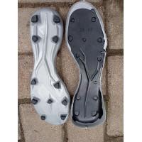 Outsole Adidas Silver Black Sol Sole Alas Sepatu Sepakbola Sepatu Bola