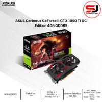 VGA CARD NVIDIA ASUS GTX 1050TI CERBERUS OC 4GB DDR5