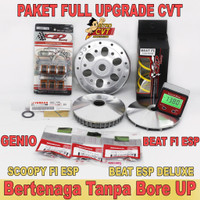 Full Upgrade CVT BeaT Fi Scoopy Fi ESP Genio Mangkok Ganda BeaT Astro