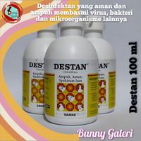 Desinfektan & antiseptik DESTAN 100 ml u/ semprot kandang & lingkungan