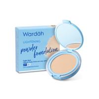 Wardah Lightening Powder Foundation Light Feel 02 Golden Beigi 12 g - 01 Light Beige