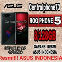 ASUS ROG PHONE 5 8/128GB 12/256GB GARANSI RESMI ASUS INDONESIA - BLACK, 8/128GB