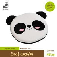 Bantal Duduk Bulat Bentuk Panda diameter 45cm
