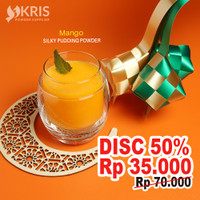 Mango Matcha silky pudding powder 650 gr