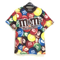 BAPE® X M&M'S™ Milk Cholcolate T-shirt 100% Original - MULTI, L
