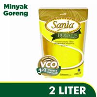MINYAK GORENG SANIA 2liter / REFIL MINYAK GORENG SANIA / SANIA 2 liter