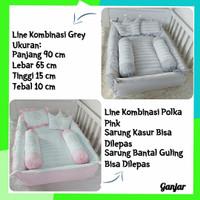 Baby Nest Kasur Bayi Kotak Set