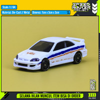 Hot Wheels Custom Honda Civic Si Coupe Fast Furious Diecast Mobil 1/64