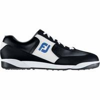 Sepatu Golf FJ Greenjoys Spikeless-White/Black Original