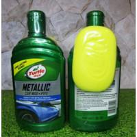 Termurah! Turtle Wax Metalic Metallic Car Wax 473Ml Biru Kode 677