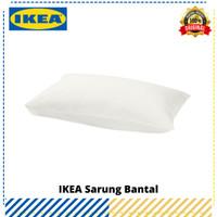 Sarung Bantal IKEA Färgmåra Putih, Original IKEA