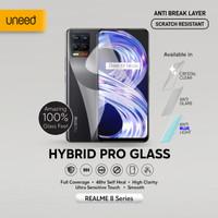 UNEED Hybrid Pro Anti Break Screen Protector Realme 8 Full Cover