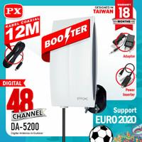 Antena TV Digital Indoor dan Outdoor PX DA-5200 / DA 5200 / DA5200