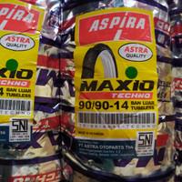 Ban luar tubeless 90/90-14 Aspira Astra