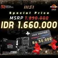 MSI B550M PRO DASH (AMD AM4, B550, DDR4) Motherboard AMD