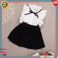 Setelan Baju Dress Import Baby Anak Perempuan Bayi Cewek 2 3 4 Tahun