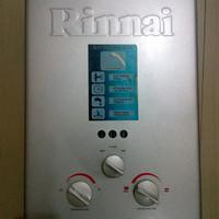 Rinnai Gas water heater low pressure + jasa pasang