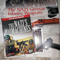 Edisi Koleksi Angkasa THE NAZI'S WAR MACHINES + Poster