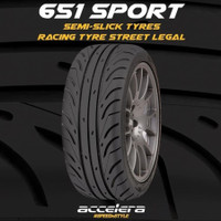 ban mobil accelera 195/50R16 195/50/16 TW100 651 sport semi slick tyre