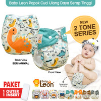 Popok Bayi Motif + FREE INSERT BY-830 / BY-831 Cloth Diaper Popok Kain