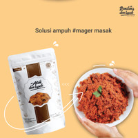 Abon Sapi Premium Den Lapeh Food/ Abon Ayam/ Abon Lele/Abon Tuna Halal