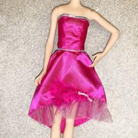 Baju Boneka High School Musical Barbie : Dress (Fit Skipper)