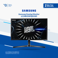 Monitor Samsung 24 Inch Curved Gaming LED C24RG50FQE / C24RG50