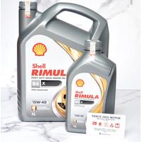 Oli Shell Rimula Diesel 5L Galon Asli Original !