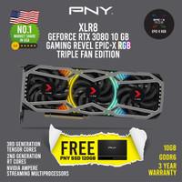 PNY RTX 3080 10GB XLR8 GAMING REVEL EPIC-X RGB TRIPLE FAN EDITION