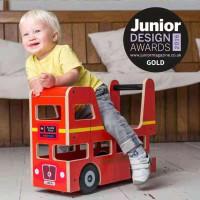 London Bus Ride On And Walker By Toys Mainan Belajar Jalan Anak Bayi
