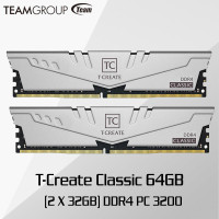 Team T-CREATE DDR4 3200 PC-25600 64GB 32GBx2