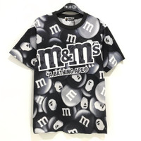 BAPE® X M&M'S™ Milk Cholcolate T-shirt 100% Original - MONOTONE, L