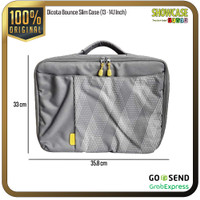 Dicota Tas Laptop Leather Premium Balistic Nylon Unisex Sling Bag A15