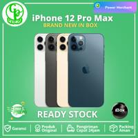 Apple iPhone 12 Pro Max 512GB 256GB 128GB - Pacific Blue Graphite Gold