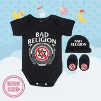 Setelan Baju Bayi Lucu Logo Band Bad Religion