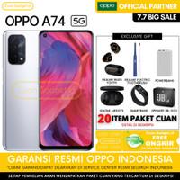 OPPO A74 11/128 OPPO A74 5G 6/128 OPPO A 74 GARANSI RESMI INDONESIA - A74 BLACK, NO GIFT