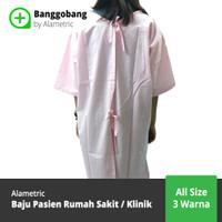 Baju Pasien / Baju Operasi / Baju Rumah Sakit / Klinik - Banggobang - Merah Muda