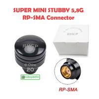 Antena 5.8G 5dbi RHCP Super Mini Stubby FPV Transmitter RP-SMA