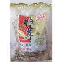 Jamur kering shitake / hioko / hyoko / dried mushroom (Repack 50 gr)