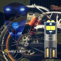 ARSY LED Lampu Senja Sen Motor T10 3030 CREE Beat Vario Scoopy Mio DC