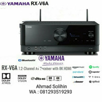 Yamaha Rxv6A Rxv 6A Av Receiver Amplifier 7.2 Channel Dolby Atmos