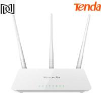Tenda F3 Wireless Router 300Mbps 3 Antena WIFI modem router LAN port