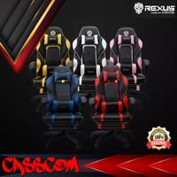 Rexus RGC-R60 Gaming Chair Kursi Bangku Game for Gamer - REX-RGC-R60