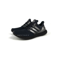 Adidas Ultra 4D Triple Black BNIB 100% Original Authentic