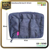 Dicota Tas Laptop Leather Premium Balistic Nylon Unisex Sling Bag A4