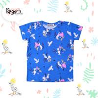 Rugers By Kayamani - Kaos Anak - Parrot blue - 2