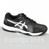 Sepatu Tenis Asics Gel Dedicate 7 Black White Tennis Shoes Ori