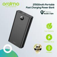 Oraimo Dual USB Port 27000mAh Power Bank Fast Charging 2.1A OPB-P271D