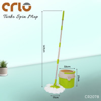 CRIO Home Turbo Spin Mop