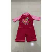 Girl Swimsuit kids Baju renang anak Decathlon preloved swim rash guard